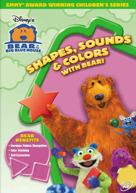 BEAR IN THE BIG BLUE HOUSE:SHAPES, SO BY BEAR IN THE BIG BLUE (DVD)